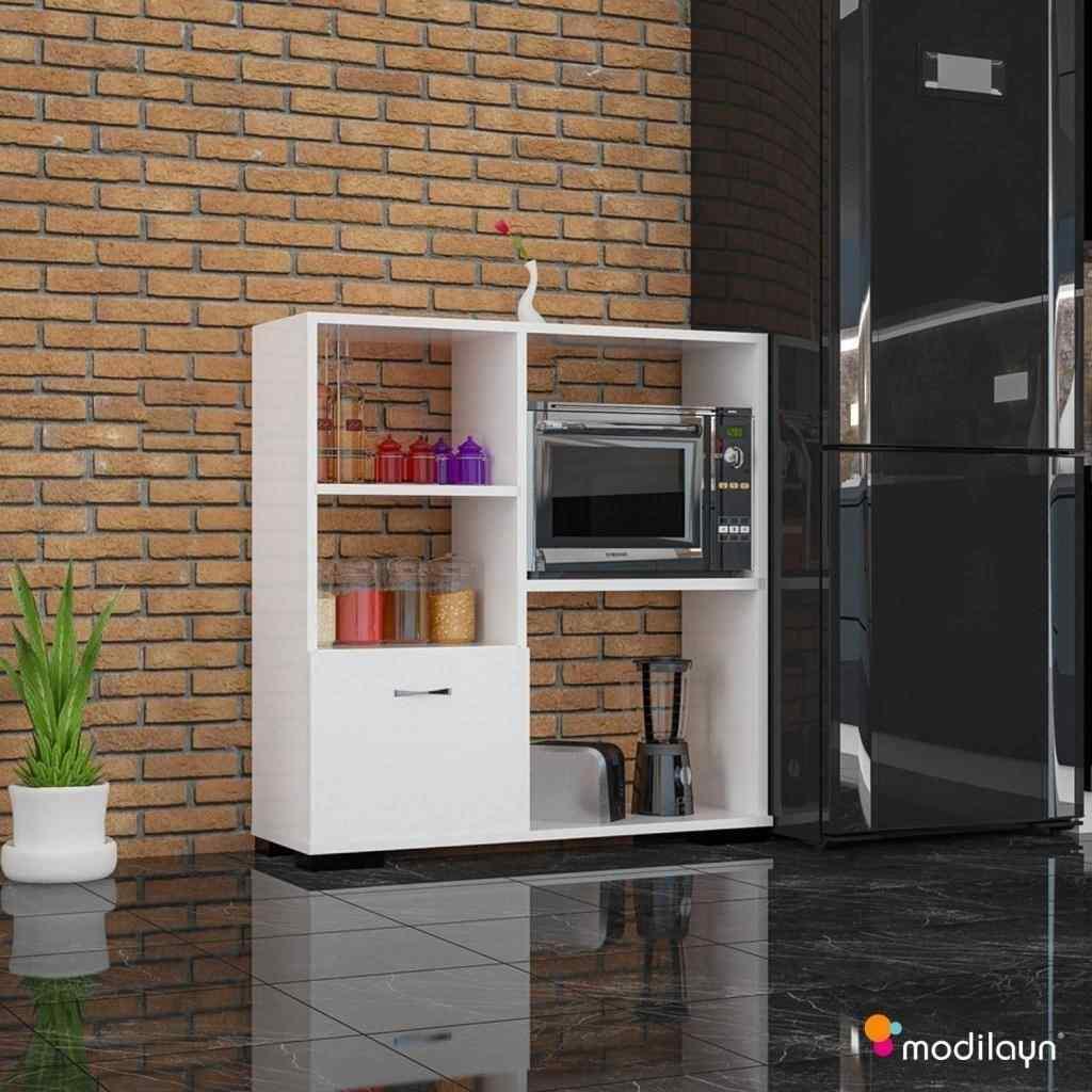 Mobil-Y Defne Mikrodalga Mutfak Dolabı Beyaz Ard109