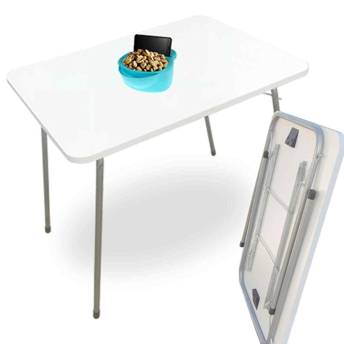 Yekta Lena Katlanır Bahçe Piknik Masası Ahşap Kamp Masası 80X60