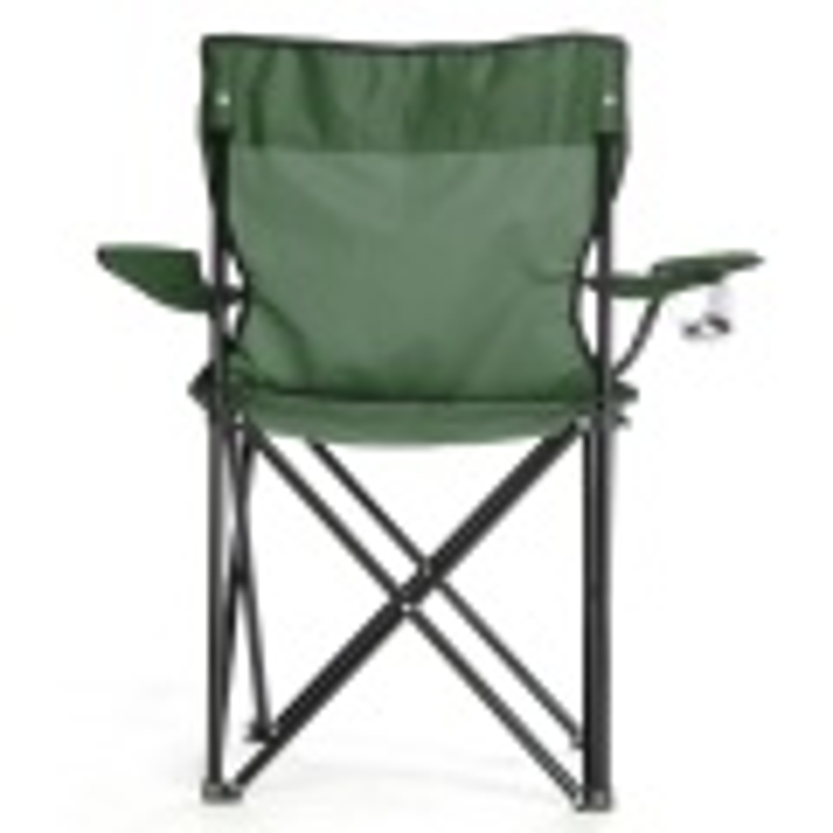 Çantalı Kamp Sandalyesi Balıkçı Plaj Piknik Koltuk Yeşil