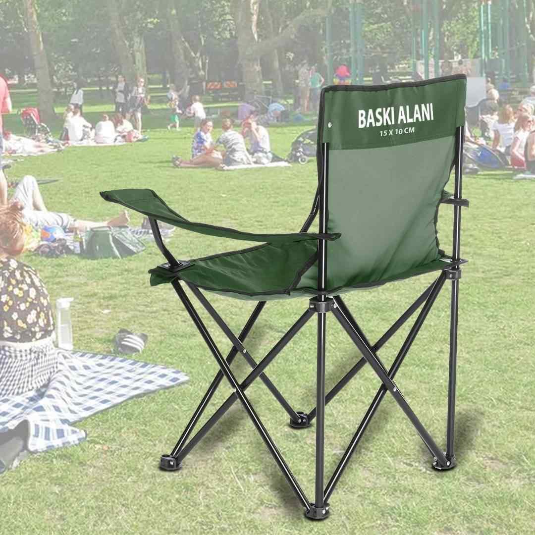 Kişiye Özel Kamp Sandalyesi ( İsme Özel Üretim )