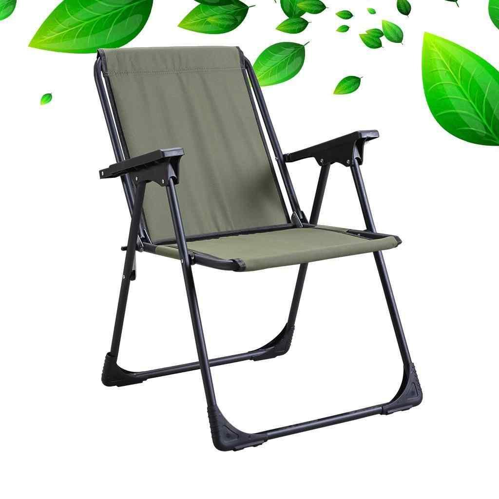 Yekta Star Piknik Plaj Sandalyesi Kamp Sandalyesi Yeşil