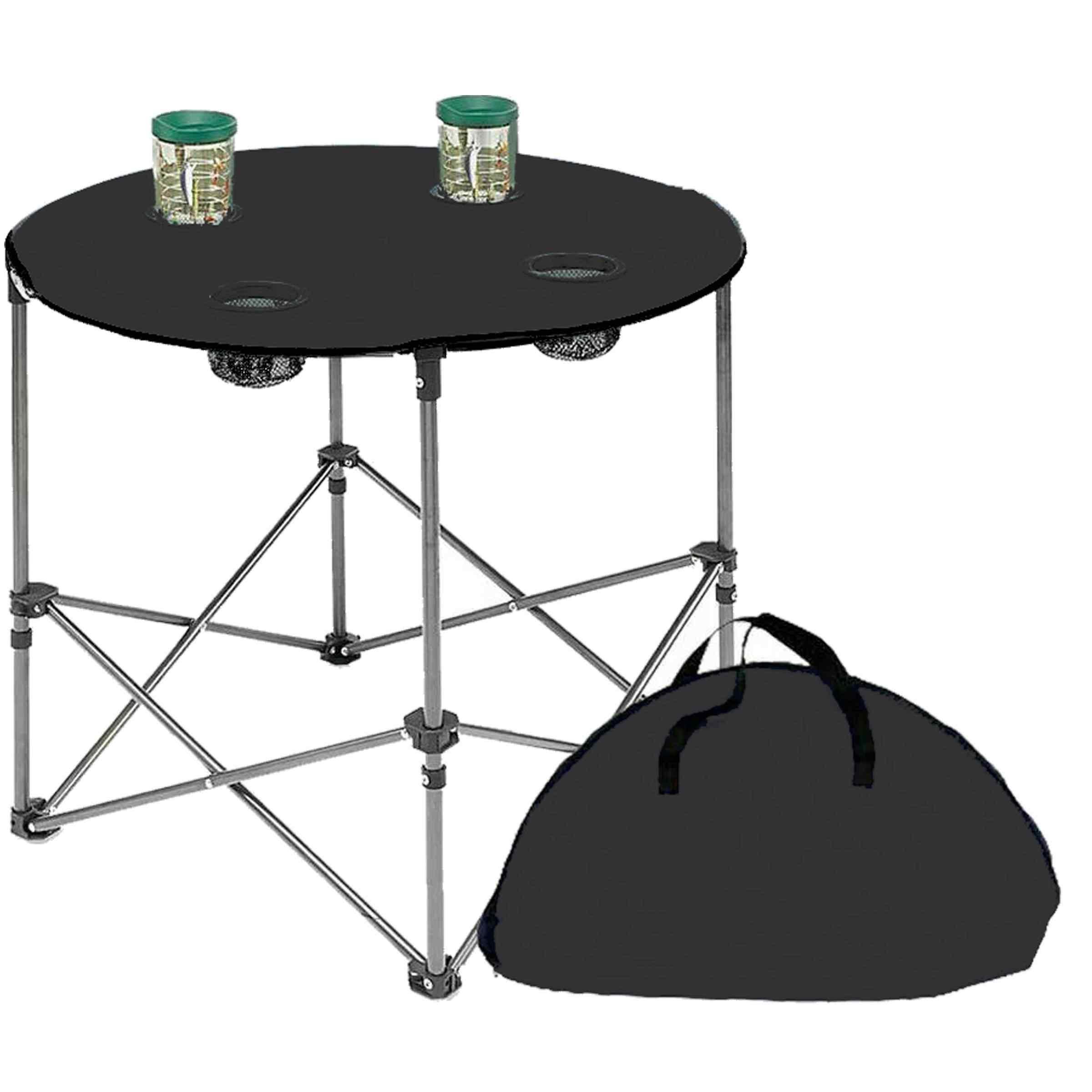 Texstar Kamp Seti Katlanır Piknik Sandalyesi + Bez Masa 2+1 Gri