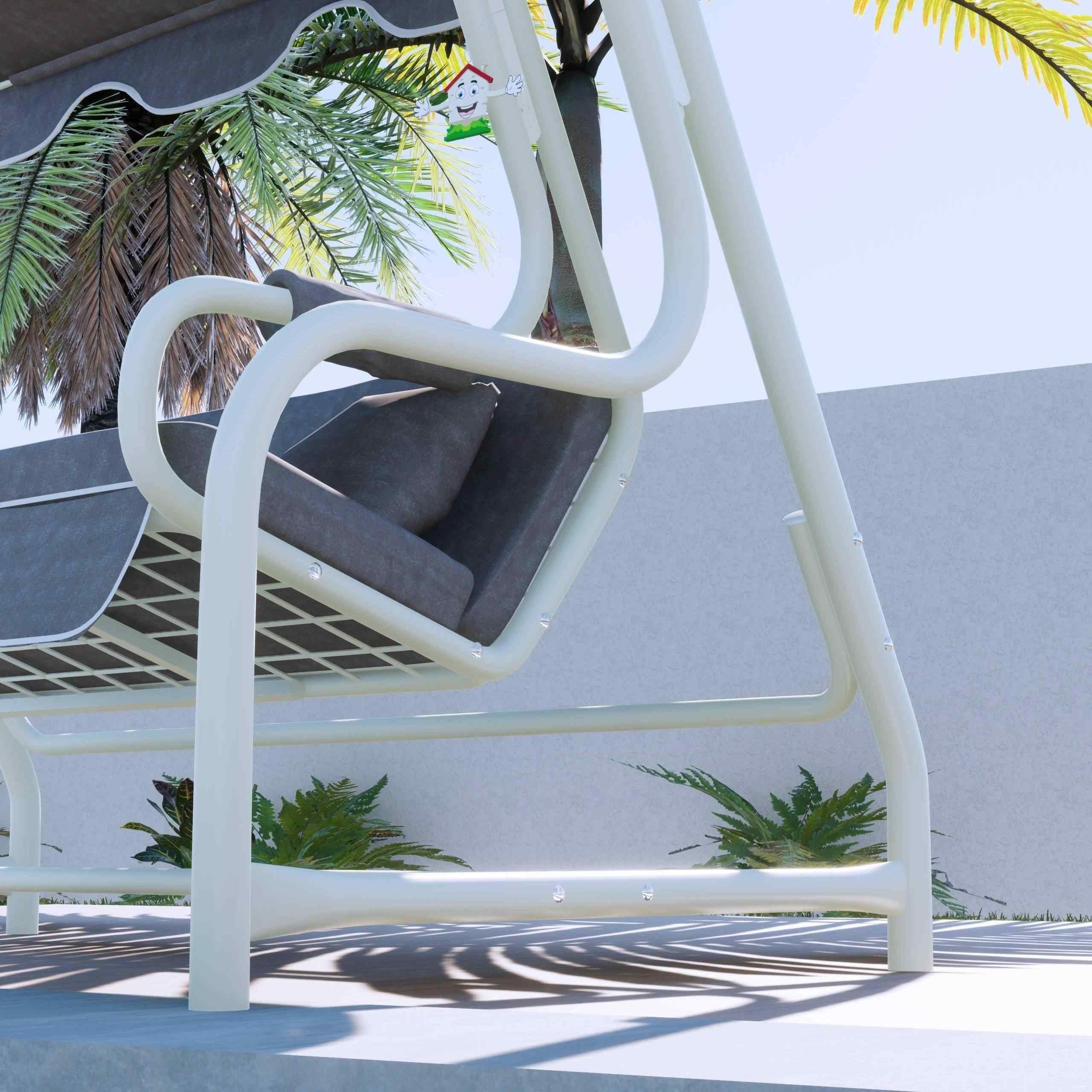 Maystro Görece 3 Kişilik Bahçe Salıncağı Balkon Salıncak 200 cm