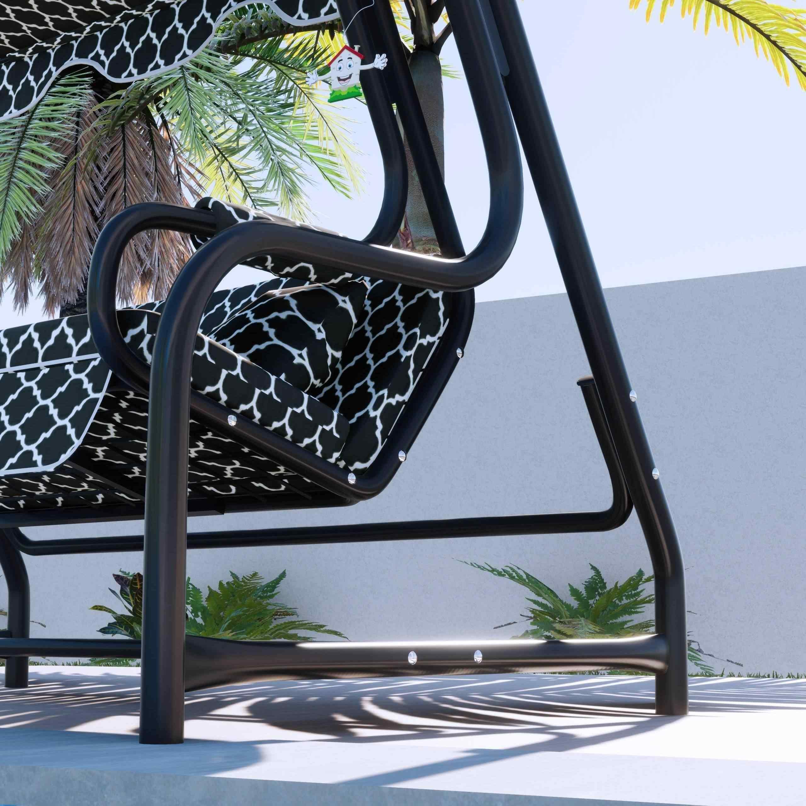 Maystro Karaburun 3 Kişilik Bahçe Salıncağı Balkon Salıncak 200 cm