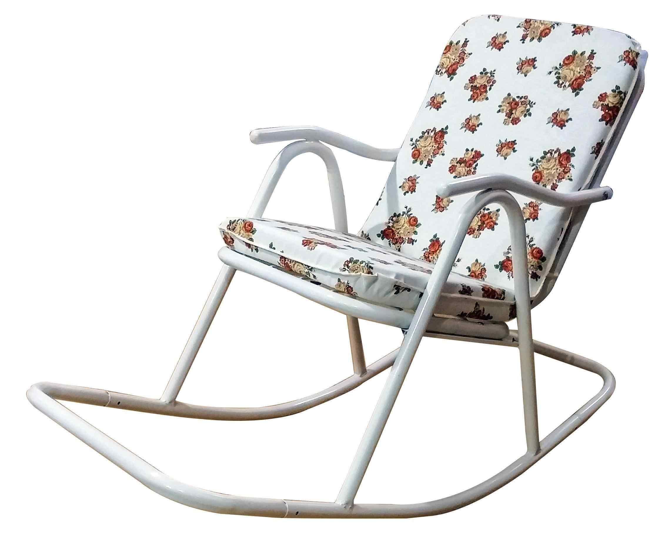Yekta Alaska Metal Minderli Sallanır Baba Sandalyesi Bahçe Sandal