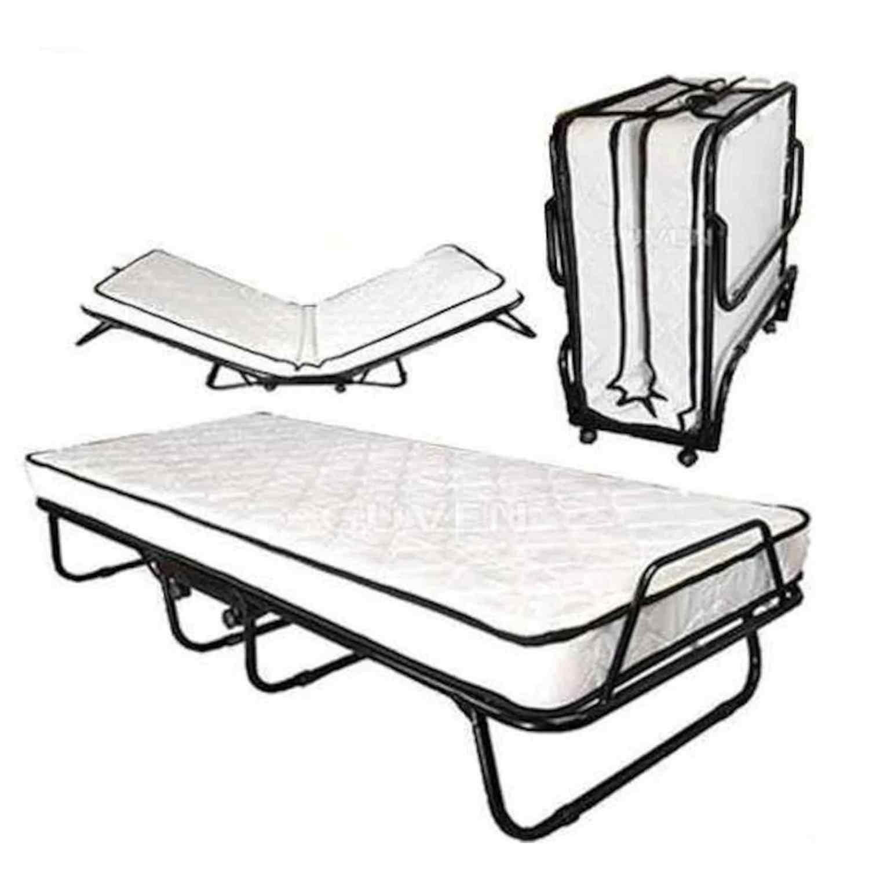 Katlanabilir İnci Yatak Öğrenci Ve İşci Yatağı Karyola P160