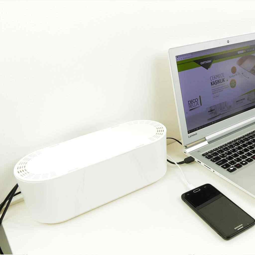 Kablo Düzenleyici Kutu Priz Düzenleyici Kablo Gizleyici Kutu