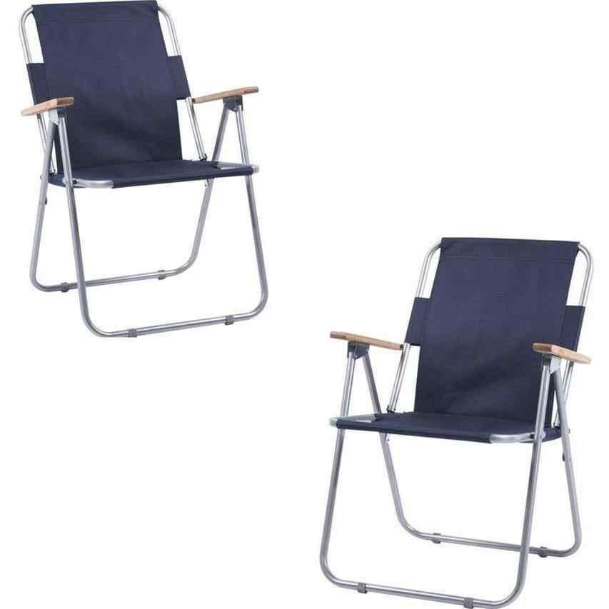 İbiza Katlanır Piknik Sandalyesi Plaj Kamp Sandalye Lacivert 2 A