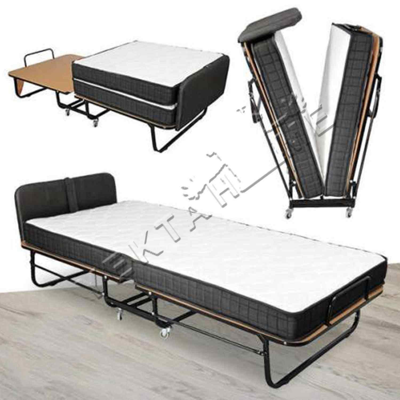 Platin Katlanır Tek Kişilik Yatak Katlanabilir Pansiyon Otel Yat