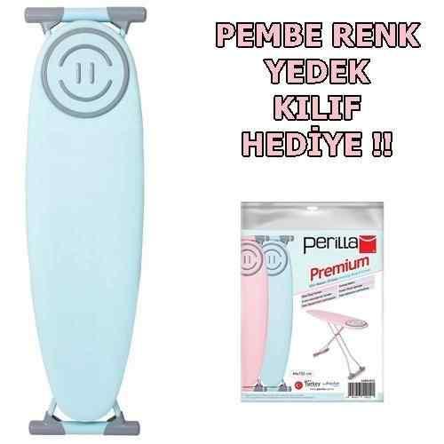 Doğrular Perilla Premium Ütü Masasi Turkuaz Soft - Kılıf HediyeL