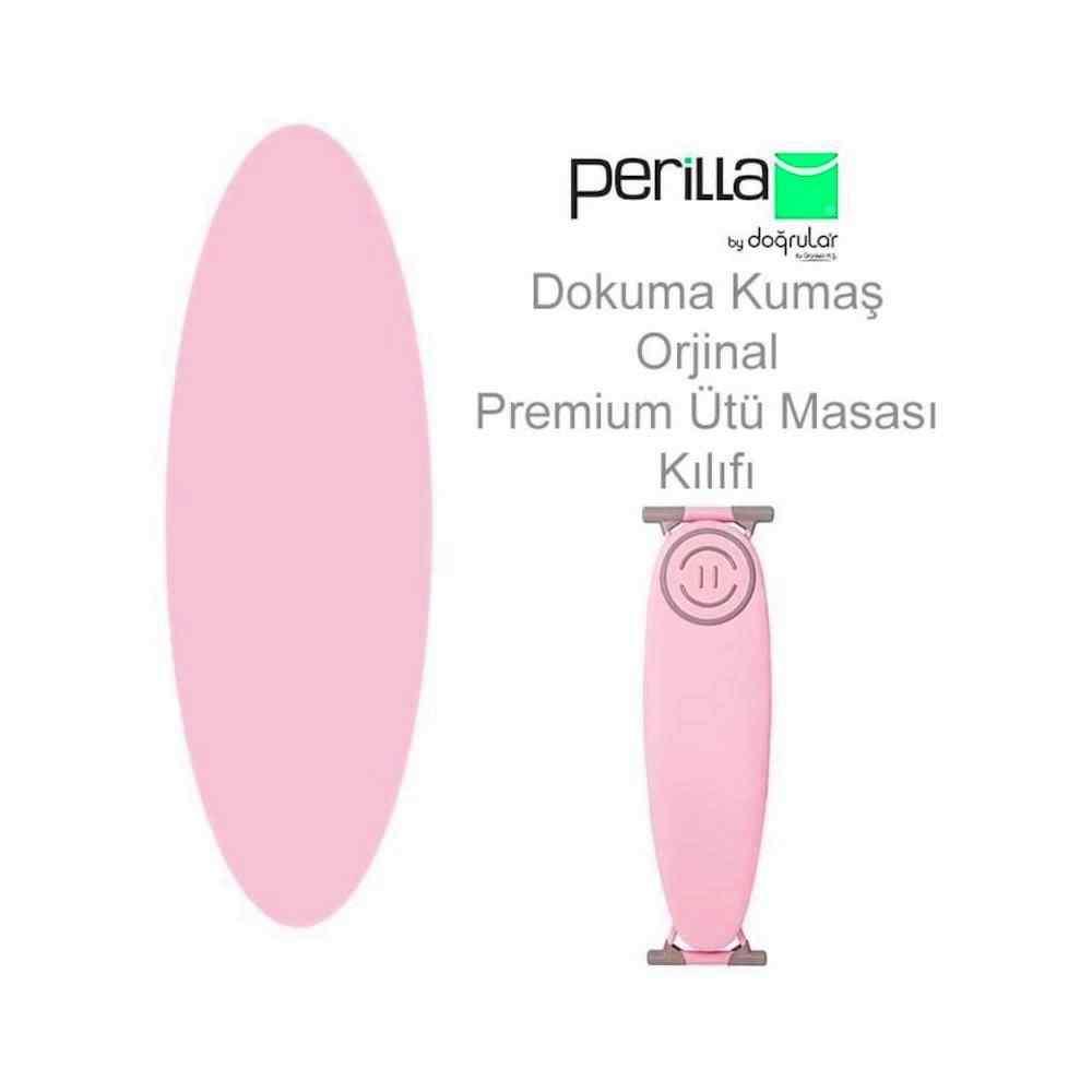 Doğrular Perilla Premium Ütü Masası Kılıfı Orijinal Kılıf Pembe