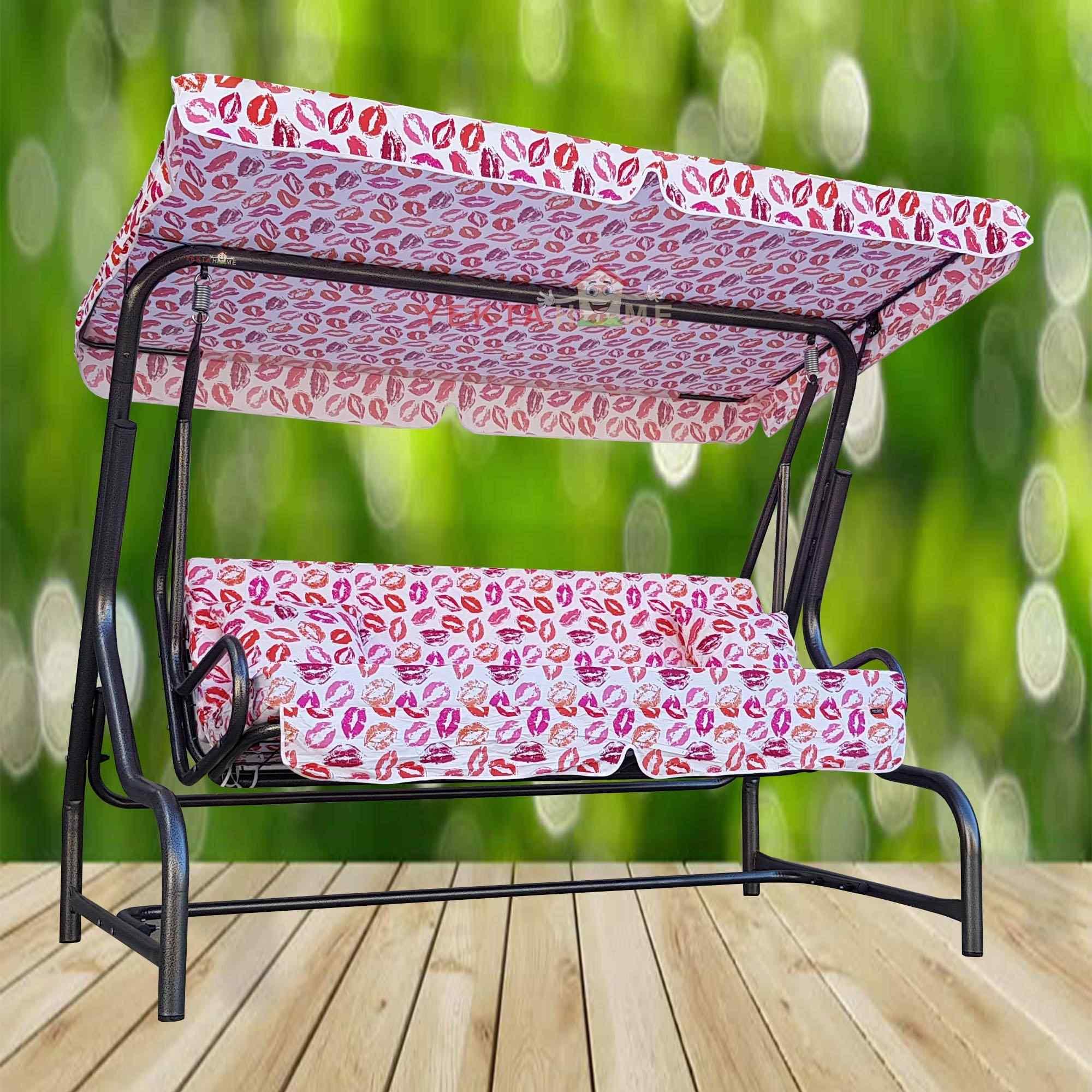 Yekta Buse 3 Kişilik Bahçe Salıncağı Balkon Teras Salıncak 200 cm