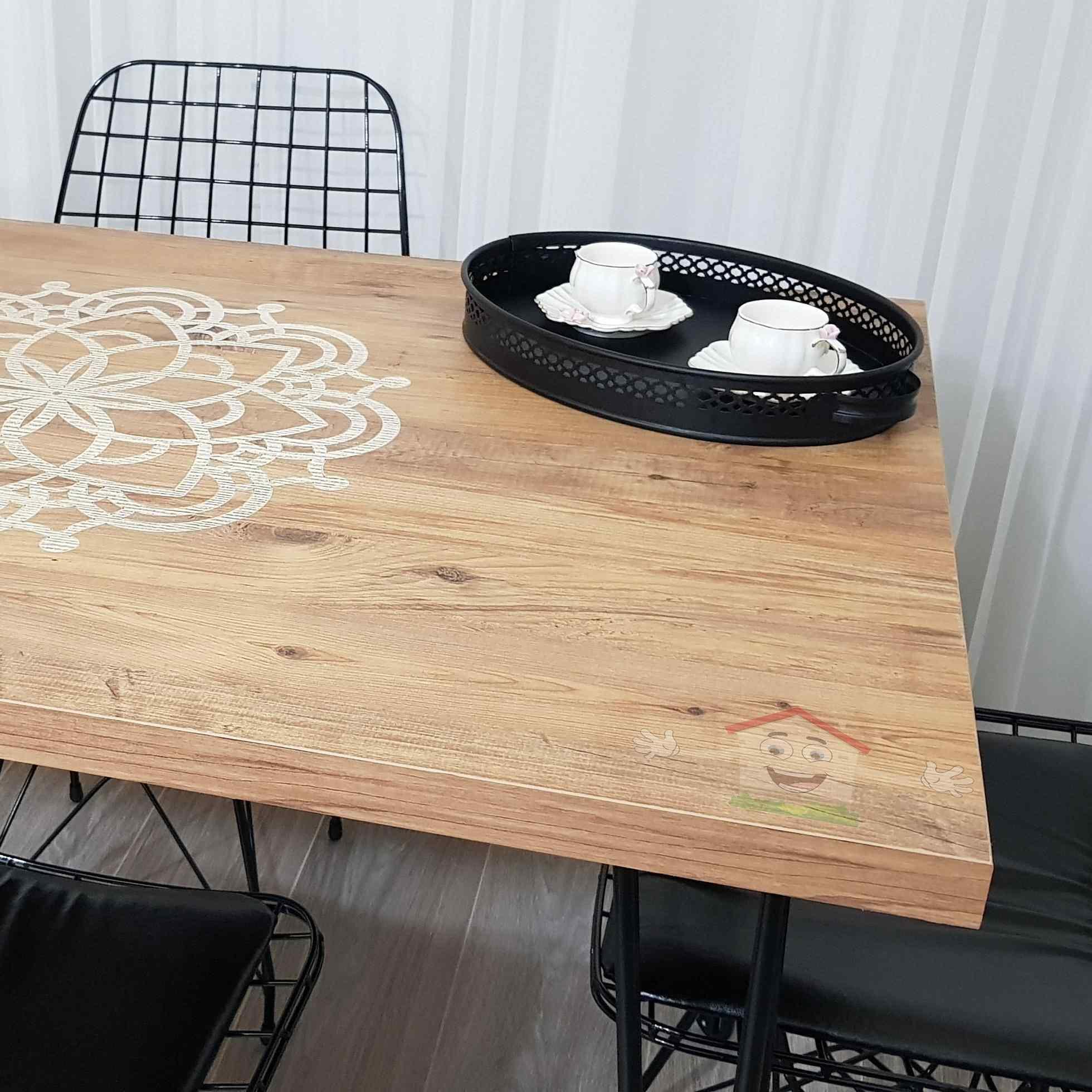 Yekta Pera Yemek Masası 4 Kişilik Masa Takımı