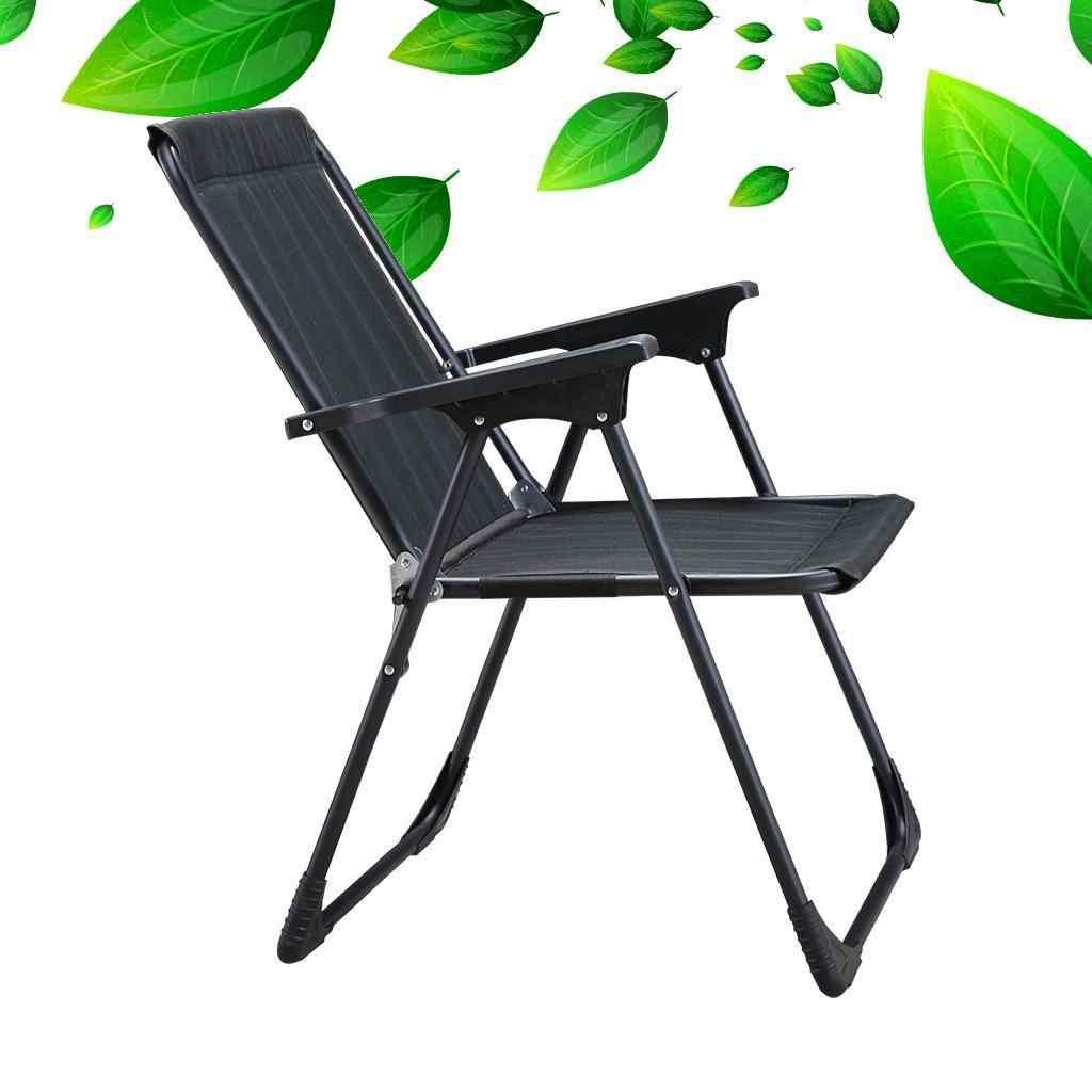 Yekta Star Piknik Plaj Sandalyesi Kamp Sandalyesi Siyah