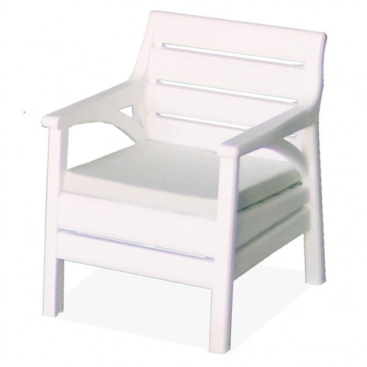 Holiday Miami Bahçe Mobilyası Oturma Grubu Balkon Koltuk Takımı Beyaz