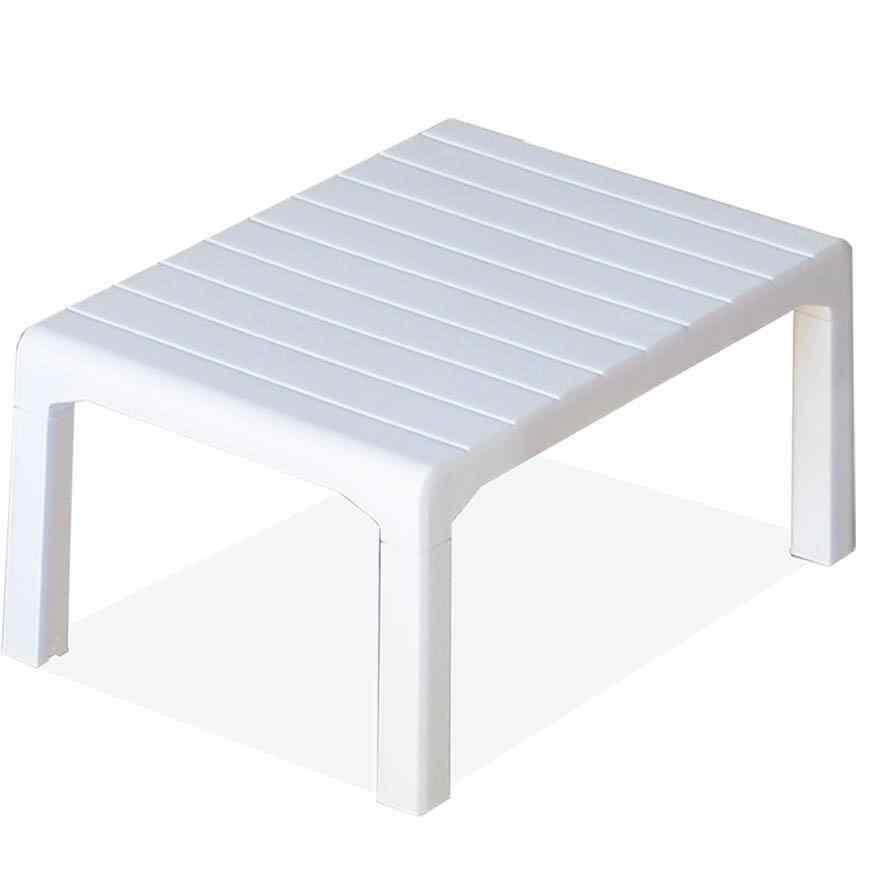 Holiday Milano Bahçe Mobilyası Oturma Grubu Balkon Koltuk Takımı Beyaz