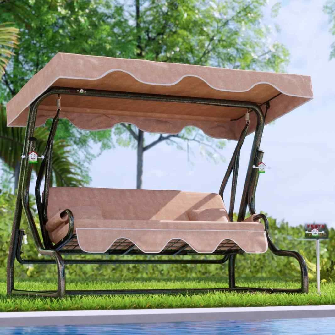 Yekta Urla 3 Kişilik Bahçe Salıncağı Balkon Salıncak 200 cm